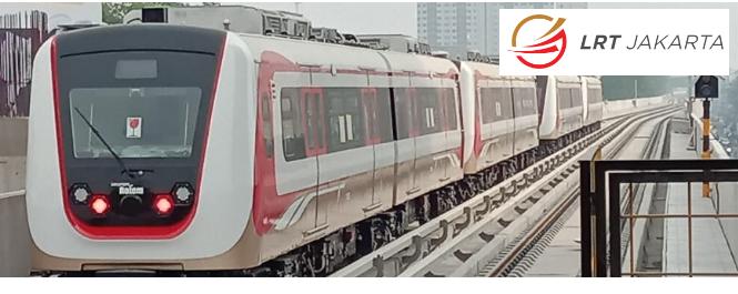 Lowongan Kerja Kereta LRT Jakarta Bulan Desember 2020