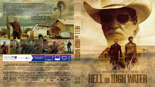 Hell Or High Water Bluray Cover