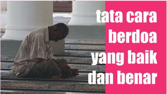 tata-cara-berdoa