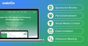 Mau Mendapatkan Uang Dari Internet? Coba Sosiago Flatform Terbaru Bagi Influencer Marketing