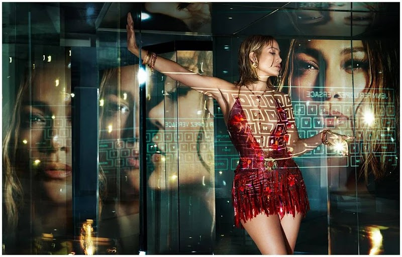 Jennifer Lopez Clicked For Versace Spring-Summer 2020 campaign