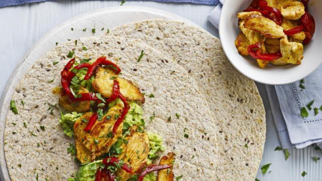spicy chicken avocado wrap recipe frugal cook