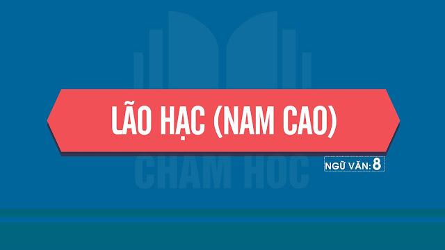Lão Hạc - (Nam Cao)