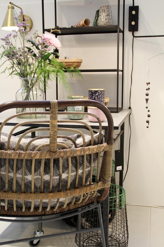 Bambus Stuhl von House Doctor auf der Ambiente 2016