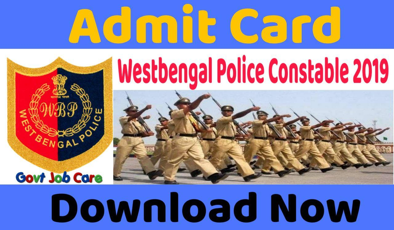 West Bengal Police Admit Card