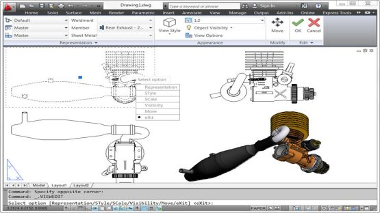 AutoCAD 2012 screenshot 4