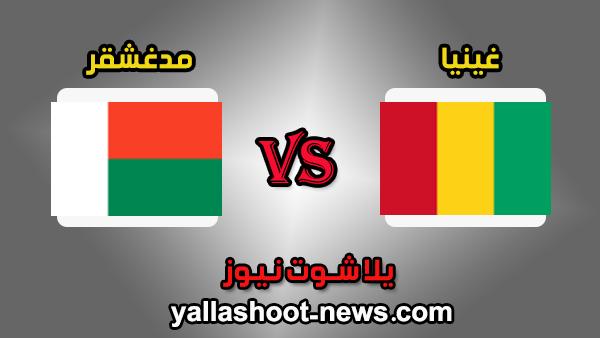 نتيجة مباراة غينيا ومدغشقر 2-2 اليوم 22-6-2019 كأس امم افريقيا