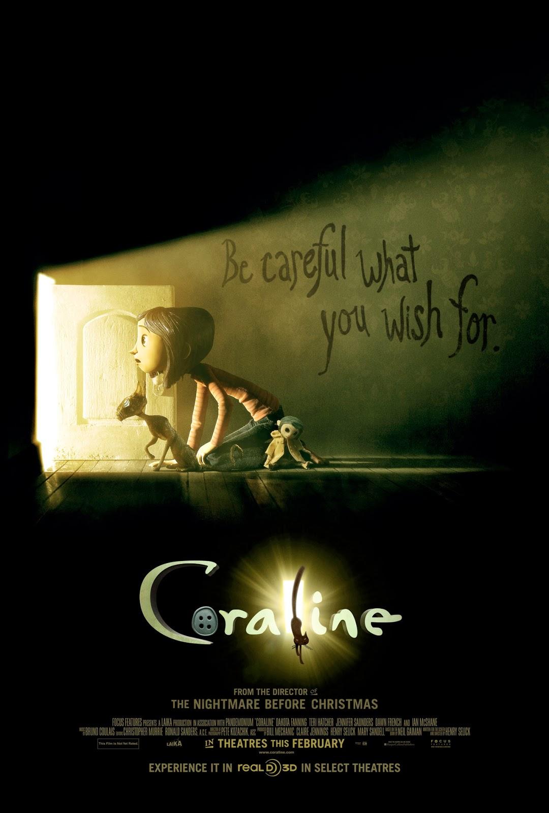 Coraline โครอลไลน์กับโลกมิติพิศวง [HD][พากย์ไทย]