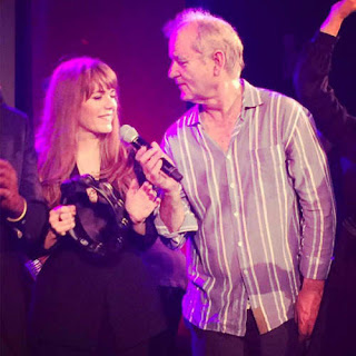 Bill Murray With Rumored Girlfriend Jenny Lewis