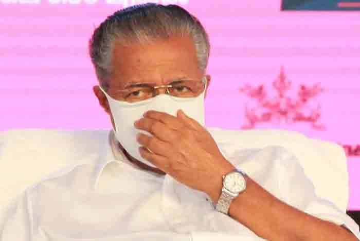 CM Pinarayi Vijayan tests positive for Covid-19, Thiruvananthapuram, News, Politics, COVID-19, Health, Health and Fitness, Pinarayi vijayan, Chief Minister, Kerala