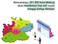 130 Zona Wifi Gratis Sekota Malang Siap 'Online'