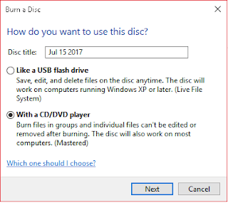 Cara Burning CD/CVD Di Windows Tanpa Menggunakan Software