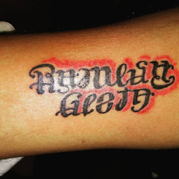 Ambigram Tattoo‎s