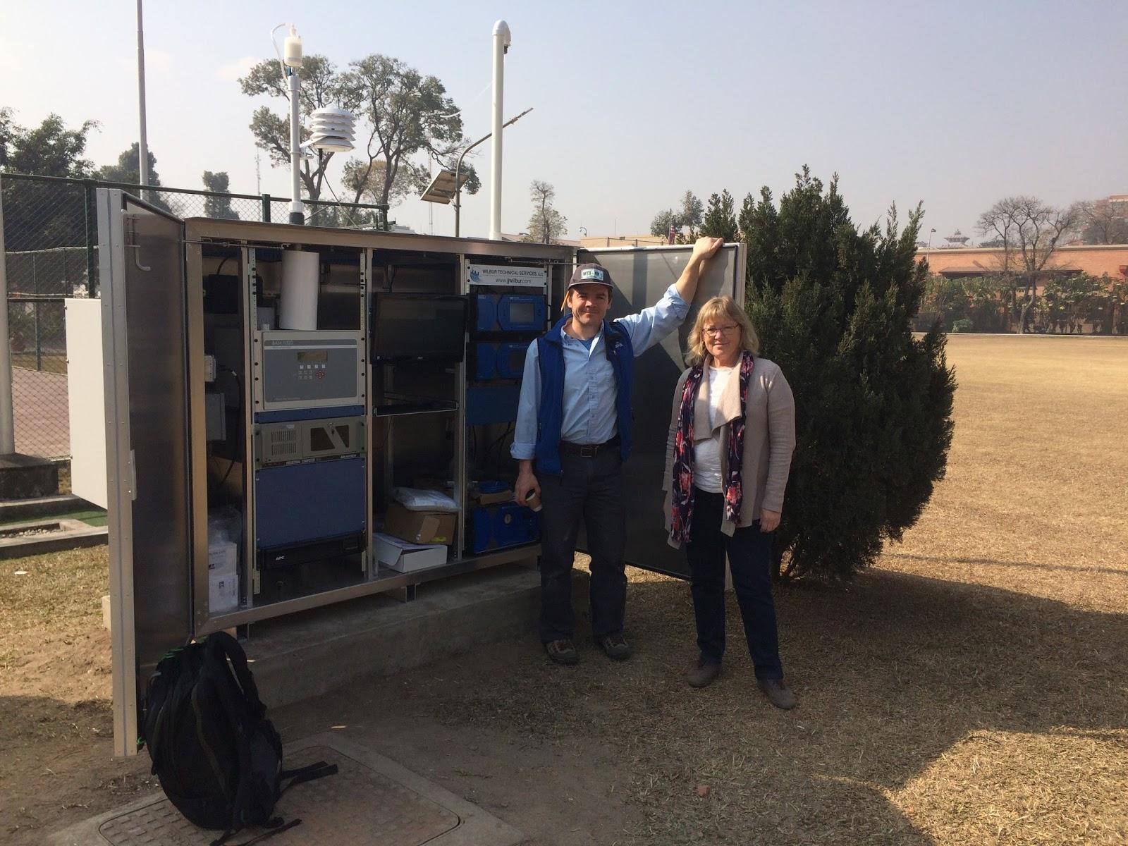 us embassy kathmandu with wilbur company