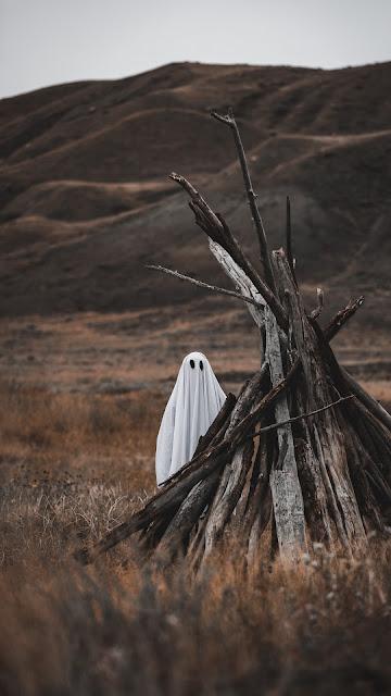 Fantasma, Assustador, Floresta, Conto