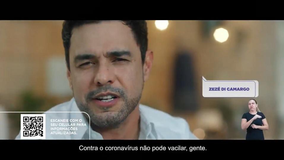 Campanha do Governno prevenção Bolsonaro