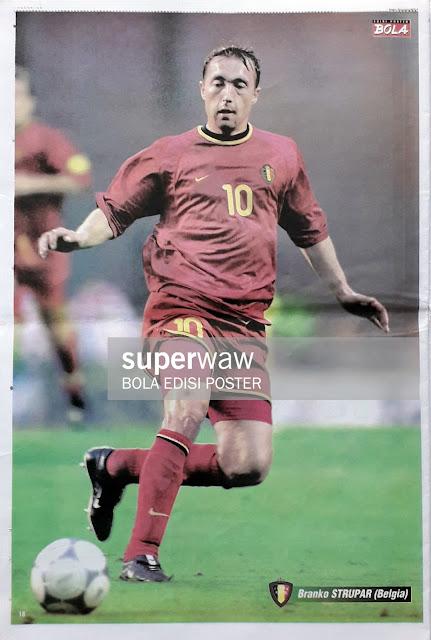 BRANKO STRUPAR OF BELGIUM ON EURO 2000