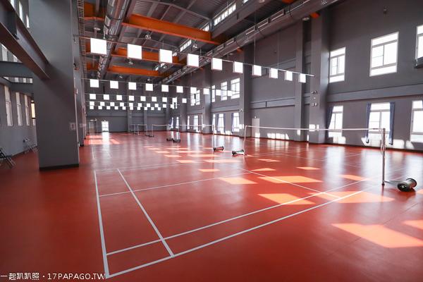 台中港區運動公園羽球場