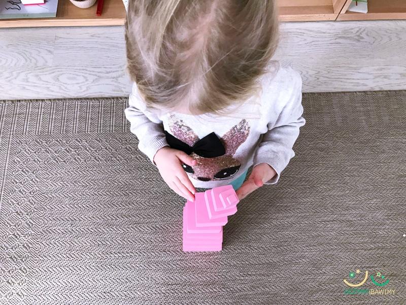 kontrola bledu montessori