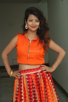 Shubhangi Bant in Orange Lehenga Choli Stunning Beauty ~  Exclusive Celebrities Galleries 004.JPG