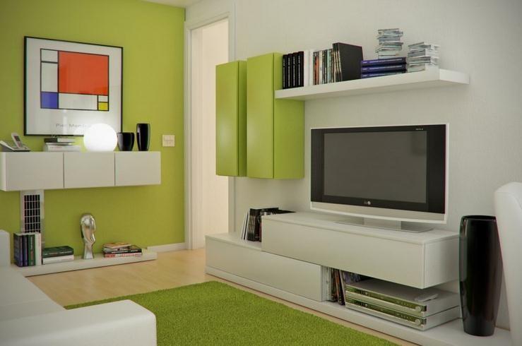 warna cat interior ruang keluarga 4