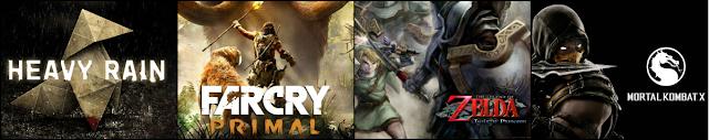 Heavy Rain, Far Cry Primal, The Legend Of Zelda e Mortal Kombat são os lançamentos da semana
