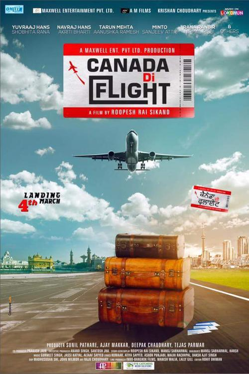 Canada Di Flight- Punjabi Movie Star Casts, Wallpapers, Songs & Videos