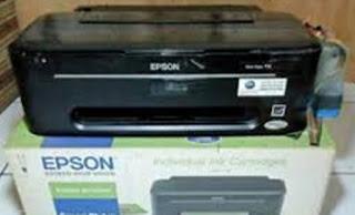 Reset Printer Epson T13