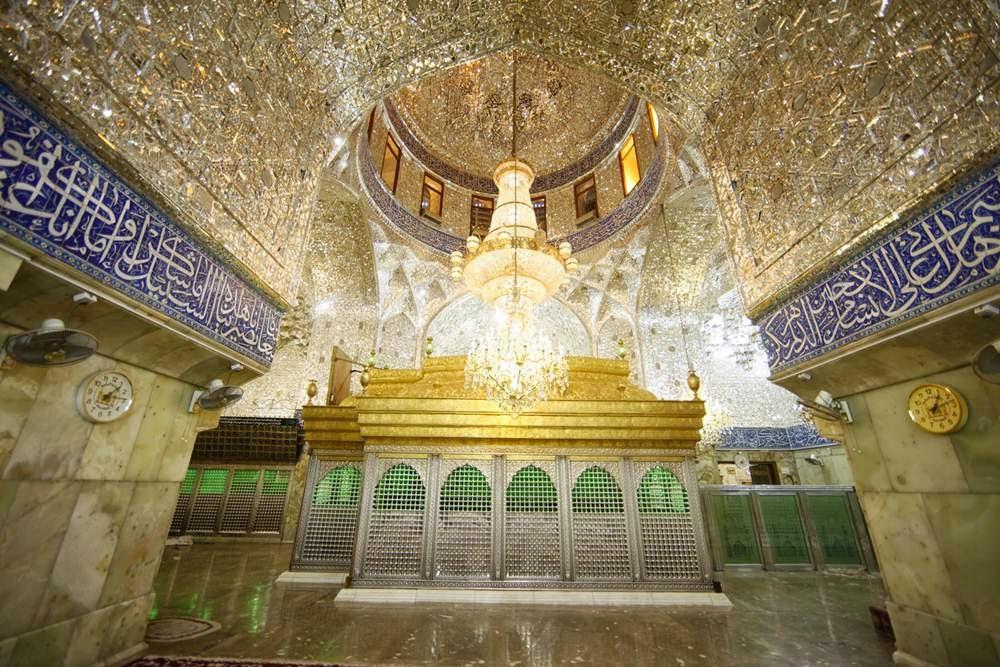 shrine of imam husayn the historical shrine in karbala