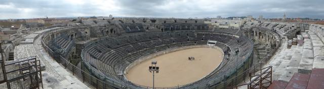 Vista panoràmica de l'Arena