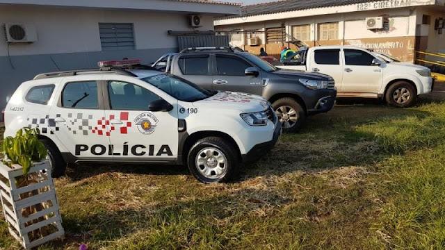 'Ciganos' são presos com armas de fogo e munições