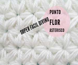 puntos, motivos, flor, crochet, ganchillo, tutorial