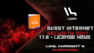 avast internet security 2017 with license key