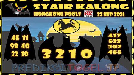 Syair HK Rabu 22 September 2021 -