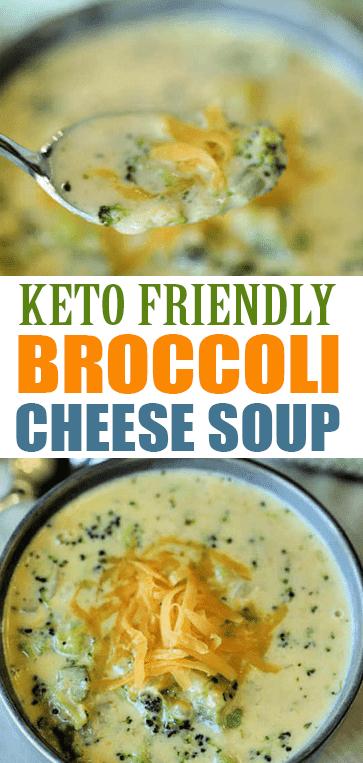 #KETO BROCCOLI CHEESE #SOUP #RECIPE