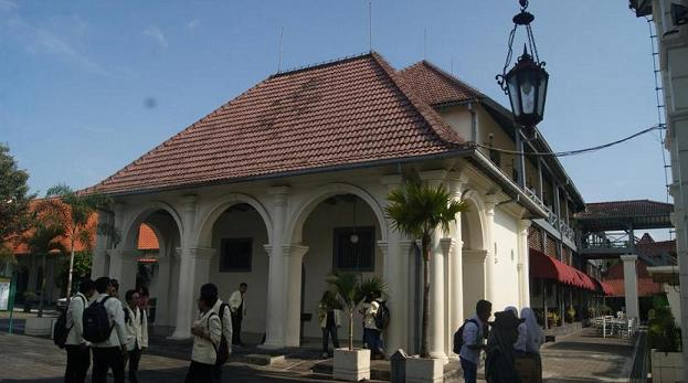 Benteng Vredeberg Yogyakarta
