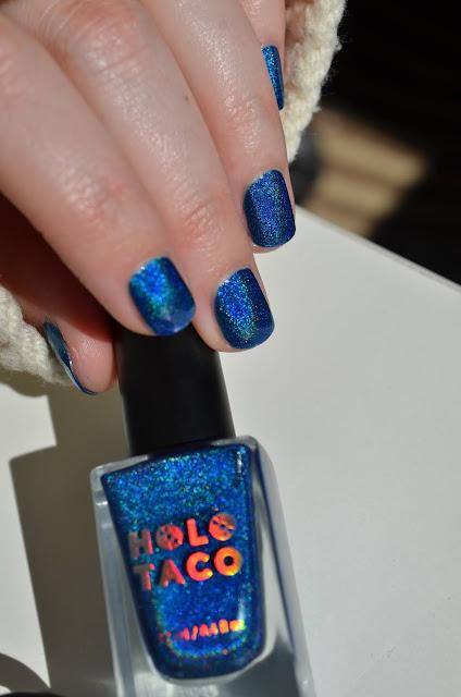 Holo Taco Blue Freezie