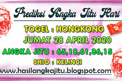 Prediksi Angka Jitu Togel Hongkong Selasa 28 April 2020
