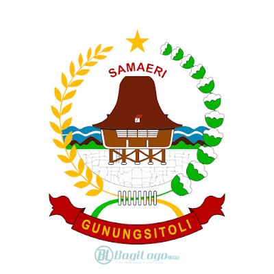 Kota Gunungsitoli Logo Vector