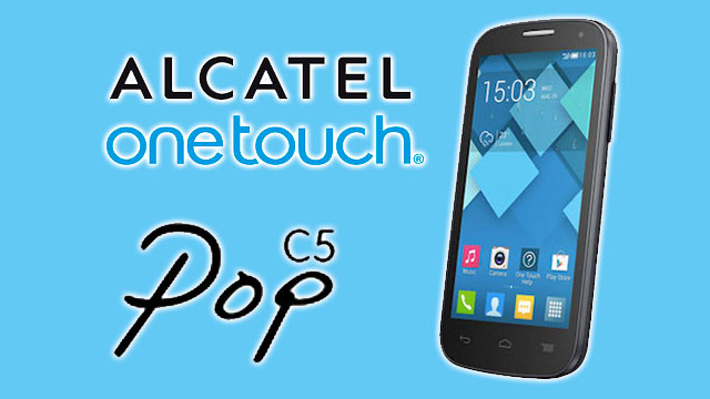 Firmware - rom stock alcatel OT POP C5 5036
