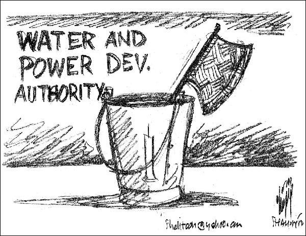 Standard of living, Malik, Tariff, water, KashKol Cartoons