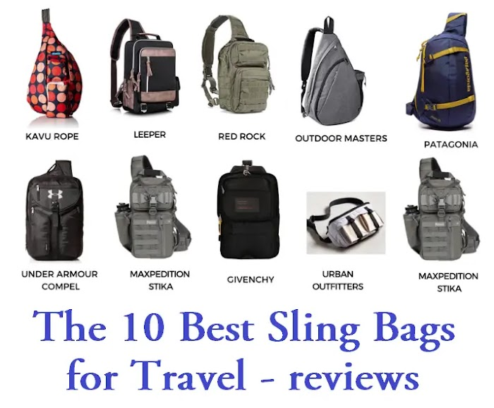 The 10 Best Sling Bags for Travel - reviews