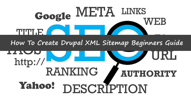 create xml sitemap for Drupal
