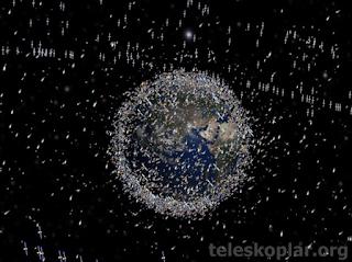 uzayda kaç tane yapay uydu vardır?