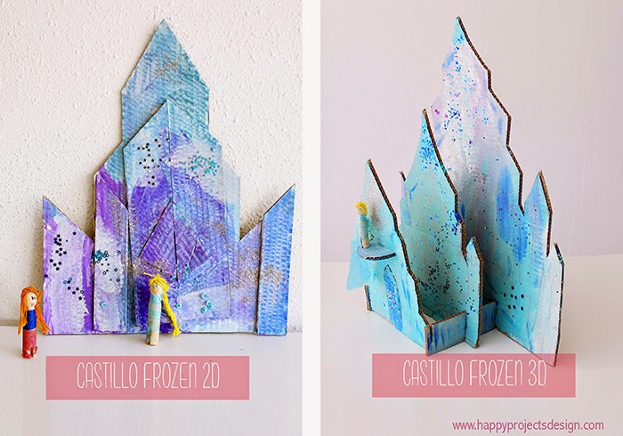 Castillo Frozen DIY