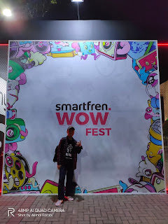 Berkunjung ke Smartfren WOW Fest, Jadi Tau SmartPoin Buat Dapetin Undian Berhadiah