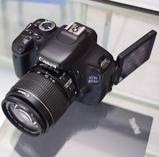 Kamera DSLR Canon EOS 600D Second Malang