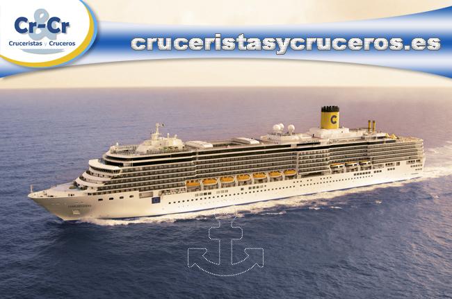 ► Costa Cruceros lanza una nueva campaña de compra anticipada a nivel nacional