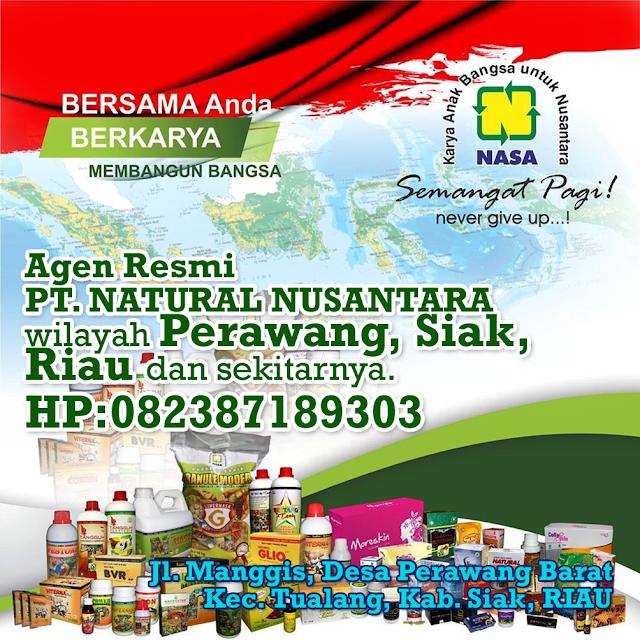 Alamat Agen Resmi NASA Wilayah Perawang, Siak, Riau dan Sekitarnya.