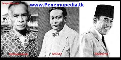 Kartosuwiryo, Muso dan Soekarno